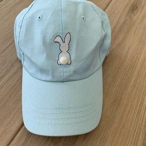 Forever 21 Bunny Adjustable Teal Baseball Cap
